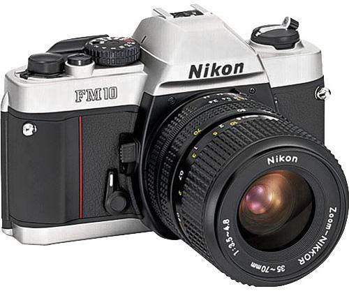 Nikon-FM10-film-SLR-camera