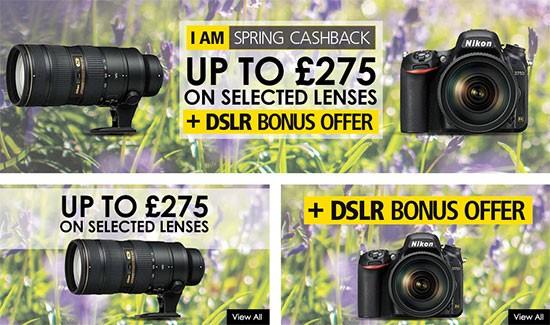 Nikon-UK-cashback