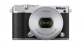Nikon 1 J5 mirrorless camera-front