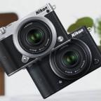 Nikon-1-J5-mirrorless-camera-silver-and-black