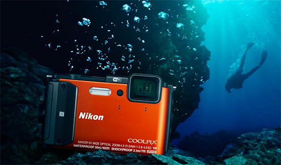Nikon-Coolpix-AW130-waterproof-camera
