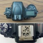 Nikon D700-and-D750-hot shoe-dimensions