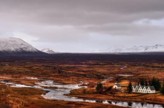 Plains near Þingvellir