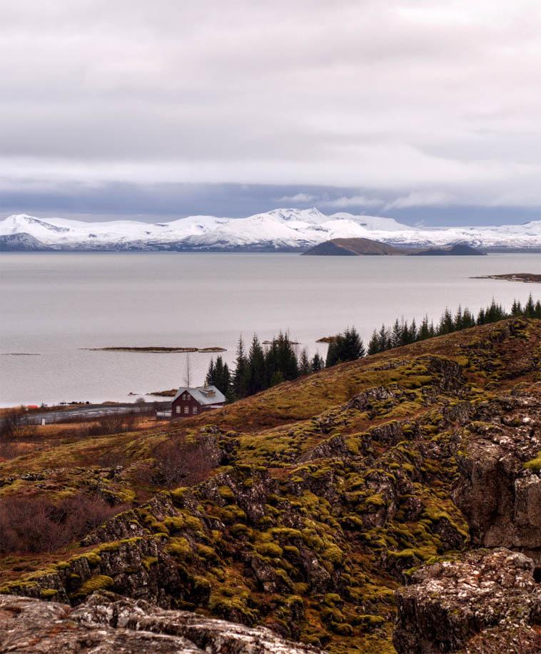 Þingvellir, the crest of the Mid-Atlantic Ridge