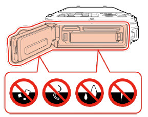 how to maintain the waterproof performance of COOLPIX waterproof cameras