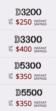 Nikon-DX-rebates