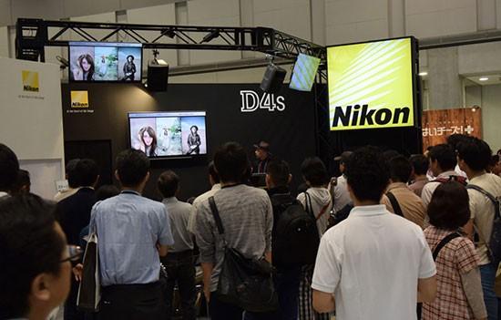 Nikon-Imaging-exhibiting-at-PHOTONEXT-2015-show