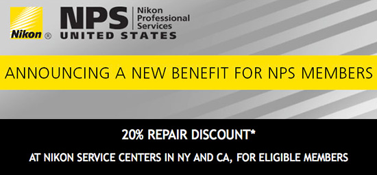 ... getting 20% discount on repairs. You can read all the details here: http://nikonrumors.com/2015/05/21/nikon-nps-members-are-now-getting-20-repair-discount-in-the-us.aspx/
