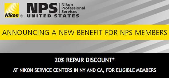 Nikon-NPS-USA-repair-discount