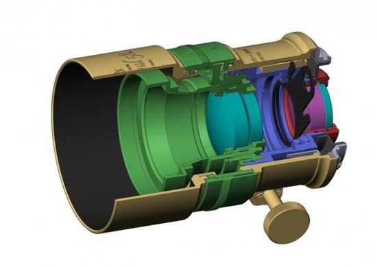 Petzval 58mm Bokeh Control Art lens design