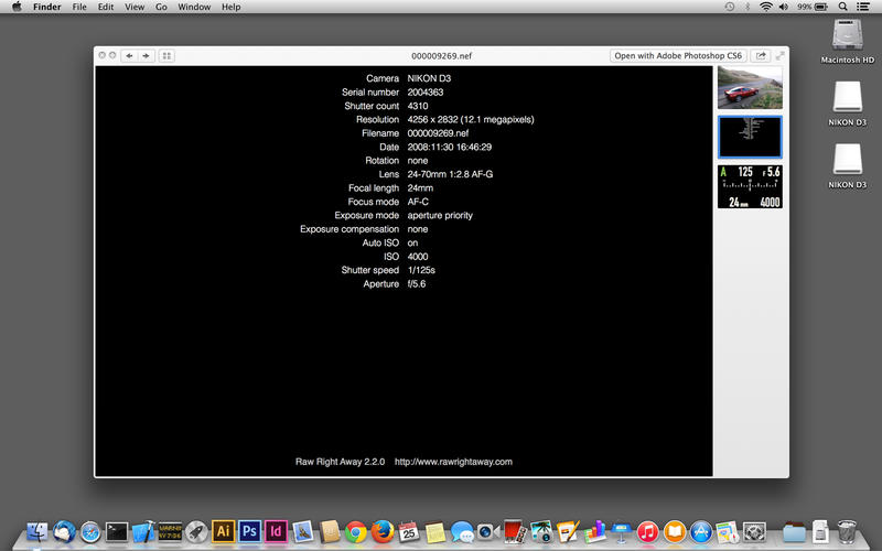 nikon d800 nef codec mac