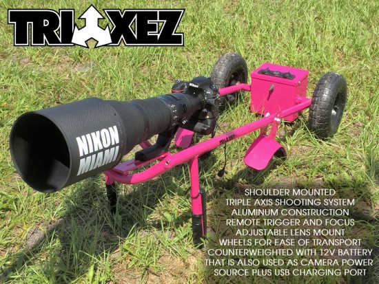 TRIAXEZ triple axis shooting system from NikonMiami