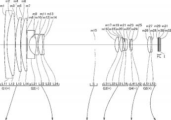1 Nikkor 10-600mm f:3.5-6.7 VR FL lens patent
