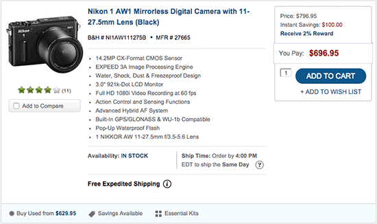Nikon-1-AW1-camera-price-drop