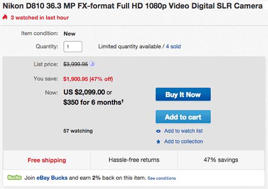Nikon-D810-camera-sale