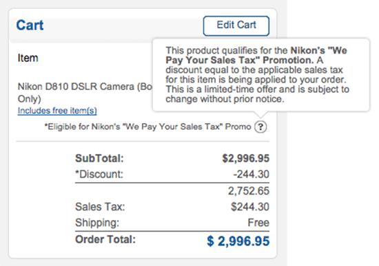 Nikon-D810-tax-free