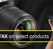 Nikon-pays-sales-tax-promotion