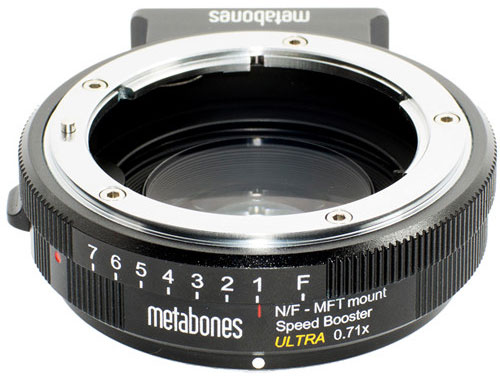 Metabones-Speed-Booster-Ultra-0.71x-Adapter-for-Nikon-F-Mount-Lens-to-Micro-Four-Thirds-Mount-Camera