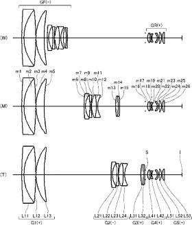 Nikon 10-65mm f:1.9 lens patent
