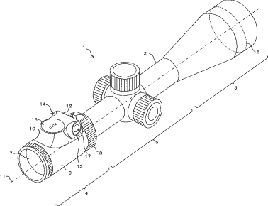 Nikon rifle scope patent