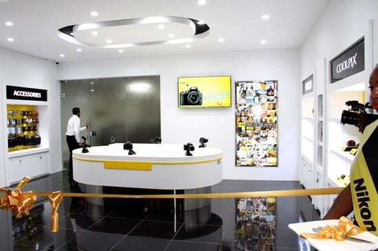 Nikon showroom in Nairobi Thika Road Mall