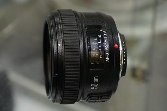 Yongnuo AF-S 50mm f:1.8 lens for Nikon F mount 4
