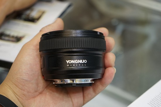 Yongnuo AF-S 50mm f:1.8 lens for Nikon F mount 5
