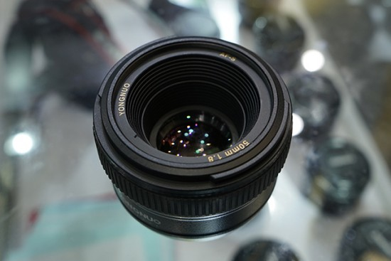 Yongnuo AF-S 50mm f:1.8 lens for Nikon F mount
