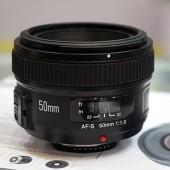 Yongnuo AF-S 50mm f:1.8 lens for Nikon F mount 7