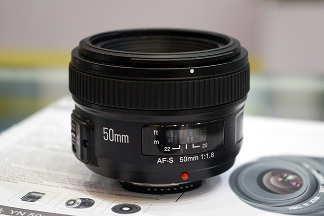 This Is The Yongnuo AF S 50mm F 18 Lens For Nikon F Mount
