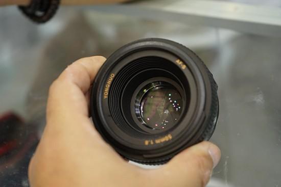 Yongnuo AF-S 50mm f:1.8 lens for Nikon F mount 8