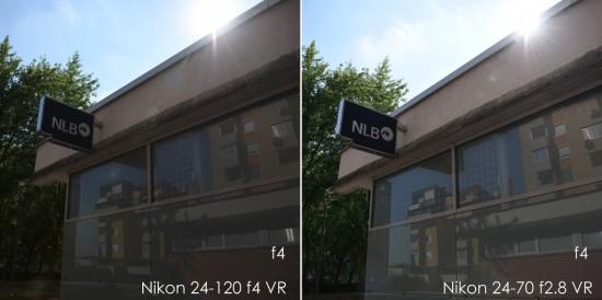 Nikon 24-120mm f:4G ED VR vs 24-70mm f:2.8E ED VR lens