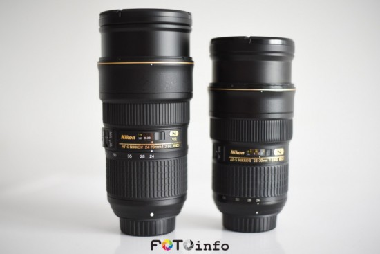 Nikon 24-120mm f:4G ED VR vs. 24-70mm f:2.8E ED VR lens 2