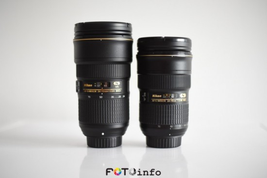 Nikon 24-120mm f:4G ED VR vs. 24-70mm f:2.8E ED VR lens