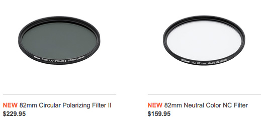 Nikon-82mm-circular-polarizing-and-neutral-color-NC-filters