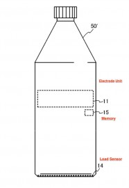 Nikon smart water bottle patent 2