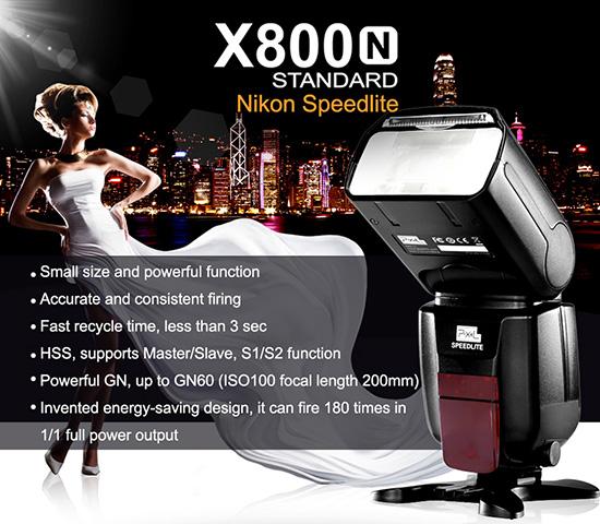 Pixel-X800N-flash-for-Nikon