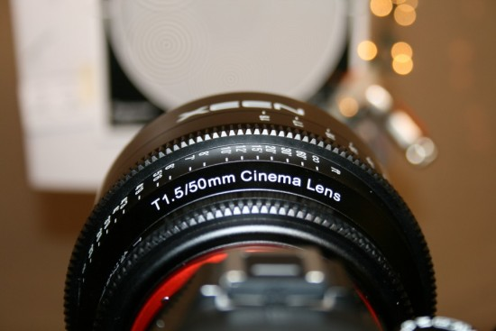 Rokinon XEEN cinema full frame lenses for Nikon F mount