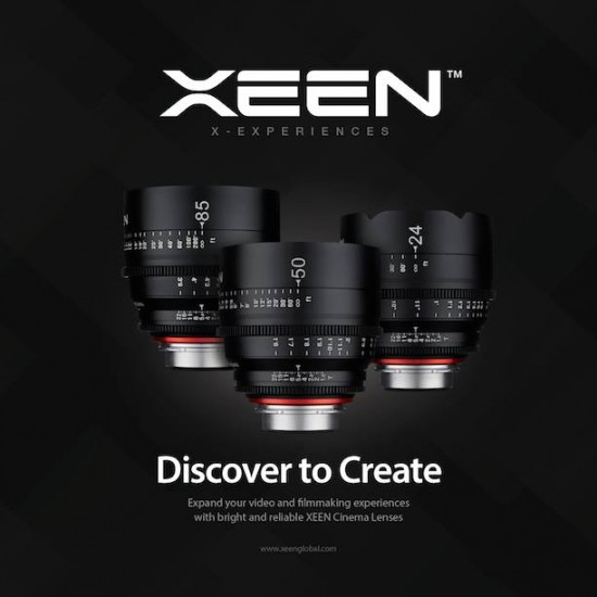 Rokinon launches Xeen line of cinema lenses for Nikon F mount