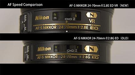 technical details on the new Nikon 24-70mm f:2.8E ED VR lens