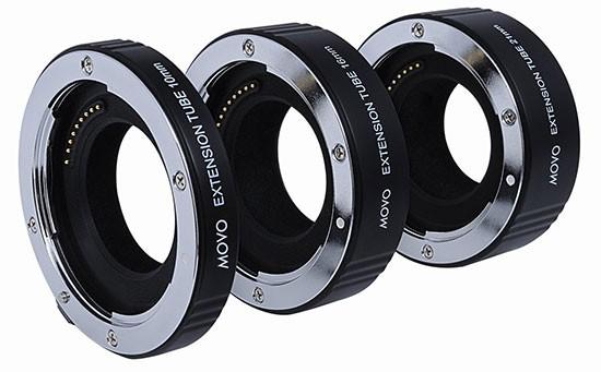 Movo-AF-macro-extension-tube-for-Nikon-1-AW-J-V-cameras
