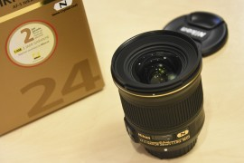 Nikon 24mm f:1.8G ED lens 3