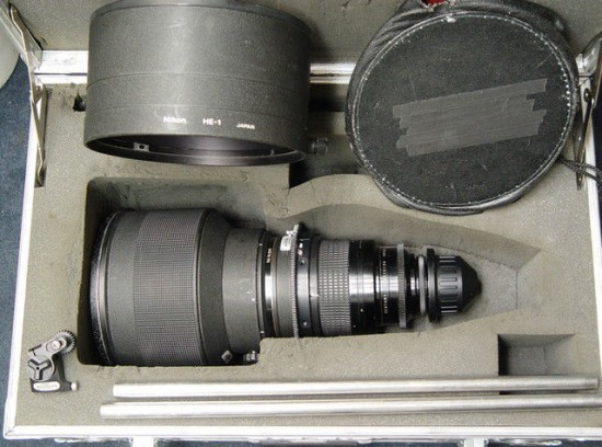 Nikon 300mm f2 ED lens with Arriflex PL mount
