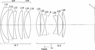 Nikon AF-S Nikkor 28mm f:1.8 VR lens patent