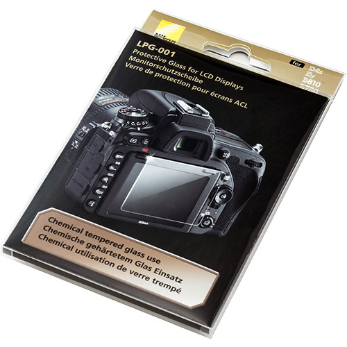 Nikon LPG-001 LCD glass protector for D750, D810, Df and D4s cameras