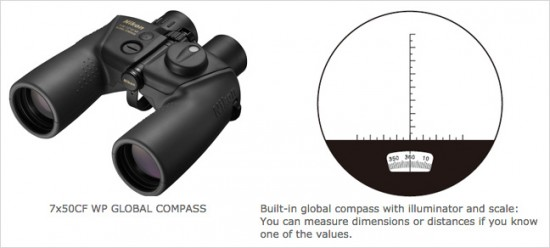 Nikon-7x50CF-WP-GLOBAL-COMPASS-binoculars-built-in-global-compass-with-illuminator-and-scale