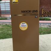 Nikon AF-S Nikkor 200-500mm f:5.6E ED VR lens