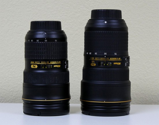 Nikon AF-S Nikkor 24-70mm f:2.8E ED VR lens review