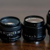 Nikon-AF-vs.-Fuji-XF-lenses-size-comparison