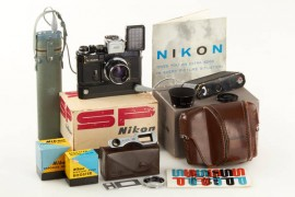 Nikon SP black Motordrive outfit